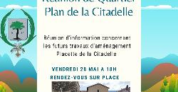 Réunion de quartier - La Citadelle