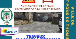 Travaux Place de la Citadelle