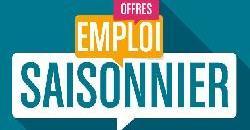 Offre d'emploi saisonnier - Juillet et Août 2021