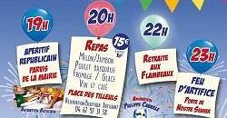 Festivités du 14 Juillet 2021 - St Pons de Thomières